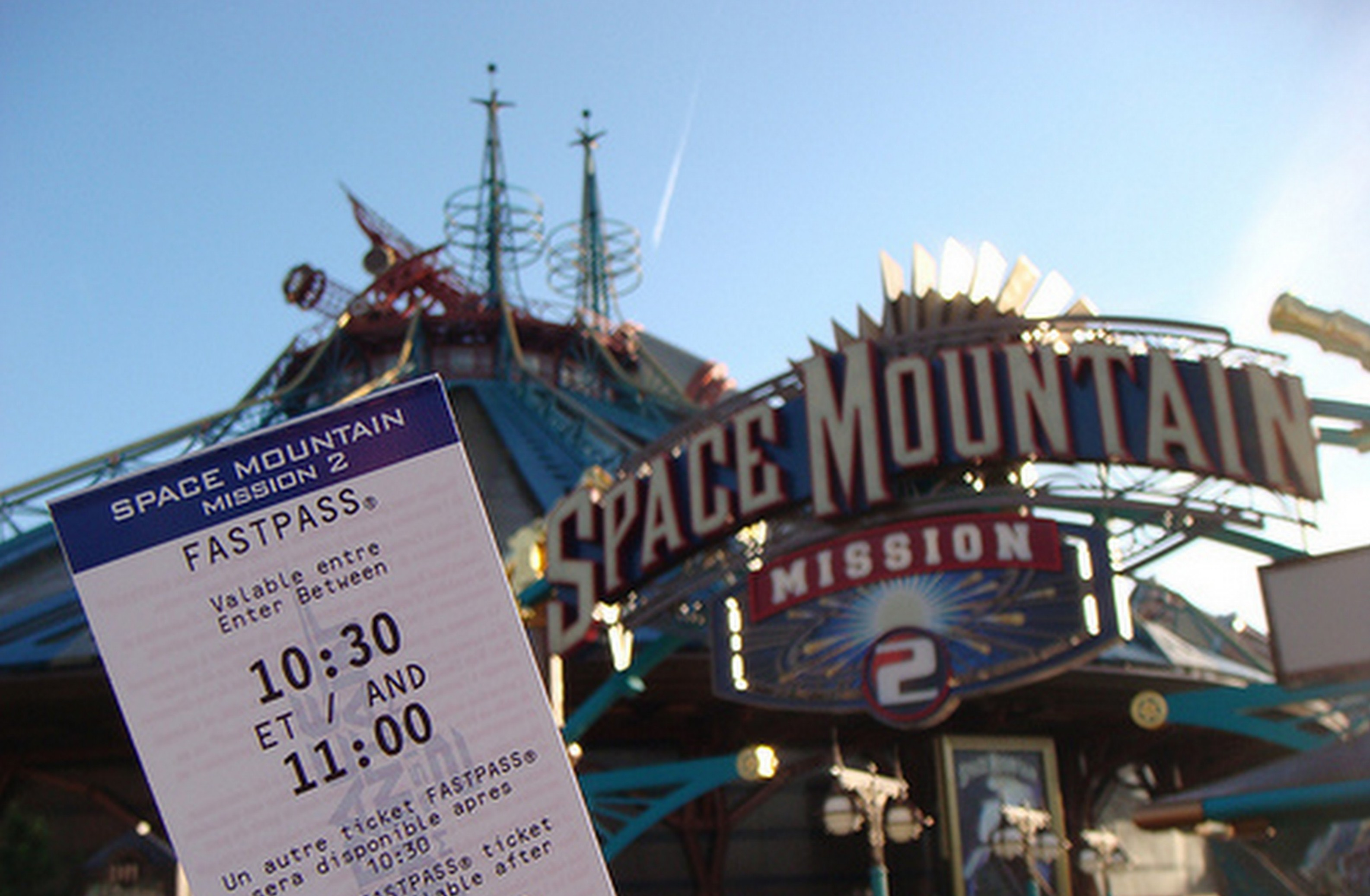 Fast Pass Ticket Paris Disneyland